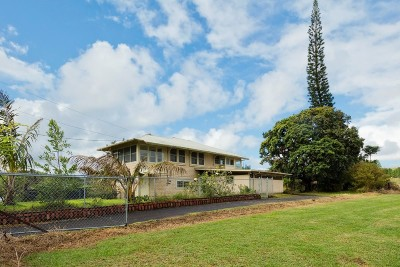 Hilo Single Family Home For Sale: 370 Malaai Rd