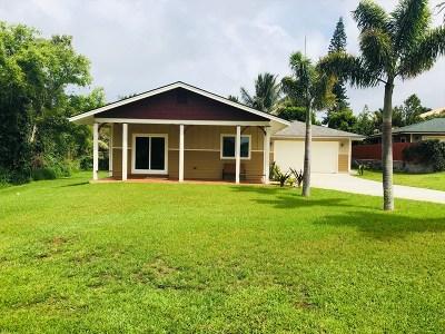 Single Family Home For Sale: 54-3739 Lehuula Cir