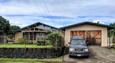 Hilo Single Family Home For Sale: 354 Olu St