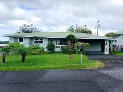 Hilo Single Family Home For Sale: 55 Ala Muku St