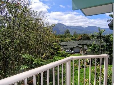 Kauai County Condo/Townhouse For Sale: 4141 Lei O Papa Rd #14