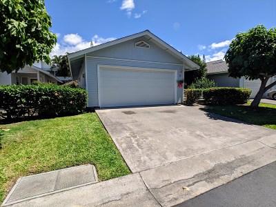 Condo/Townhouse For Sale: 75-252 Nani Kailua Dr #26