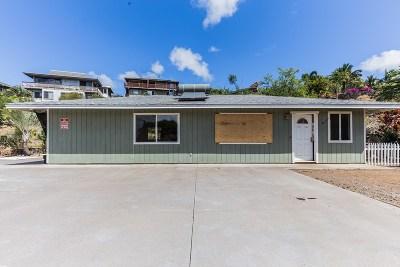 Waikoloa Single Family Home For Sale: 68-1891 Lina Poepoe St