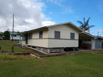Hilo Single Family Home For Sale: 240 Chong St