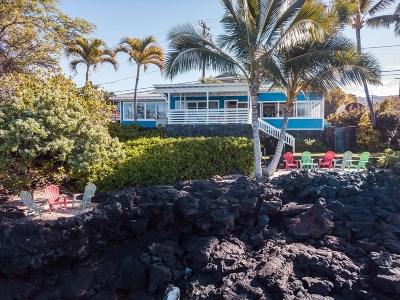Kailua-Kona Single Family Home For Sale: 77-6566 Alii Dr