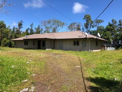 Keaau HI Single Family Home For Sale: $319,000