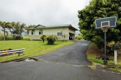 Hilo Single Family Home For Sale: 1945 Keo St