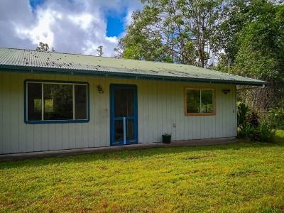 Hawaii County Single Family Home For Sale: 13-3639 Kumakahi St