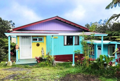 Volcano HI Single Family Home For Sale: $288,500
