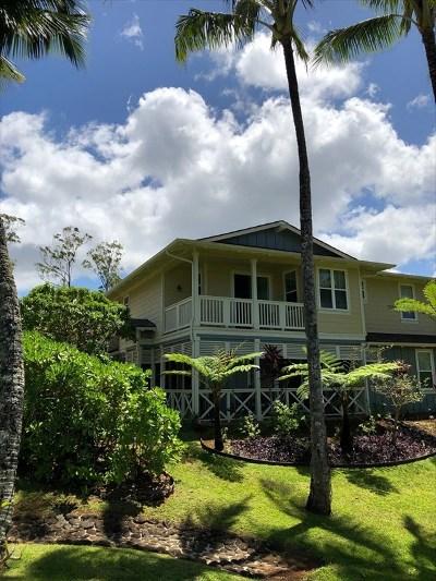 Kauai County Condo/Townhouse For Sale: 4919 Pepelani Lp #28B