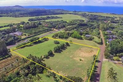 Kauai County Residential Lots & Land For Sale: Kapuna Estates Cpr #Unit A