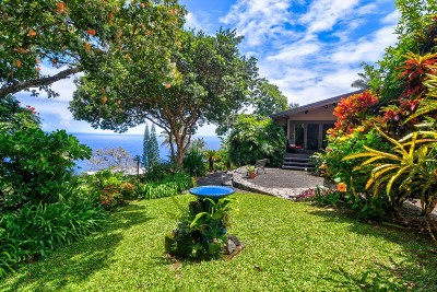 Single Family Home For Sale: 36-2382 Pualaea Pl