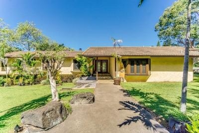 Kailua-Kona HI Single Family Home For Sale: $990,000