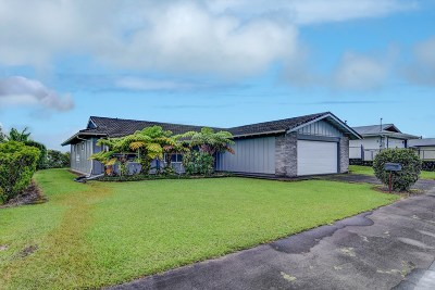 Hilo Single Family Home For Sale: 167 Lukia St