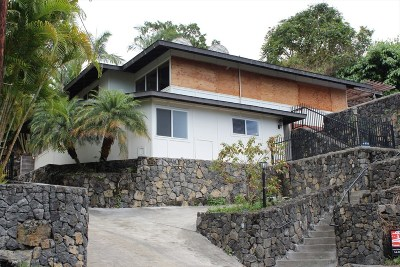 Kailua-Kona HI Single Family Home For Sale: $625,000