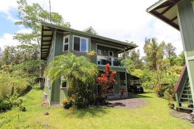 Pahoa HI Single Family Home For Sale: $244,000