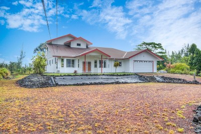 Keaau HI Single Family Home For Sale: $500,000