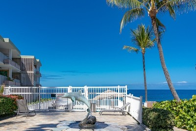 Kailua-Kona Condo/Townhouse For Sale: 75-6008 Alii Dr #227