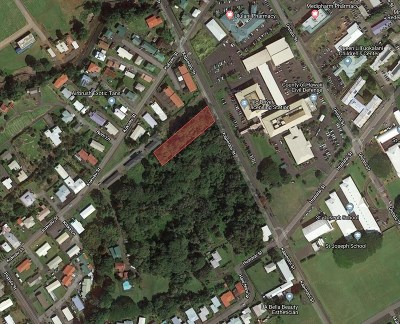 Hawaii County Residential Lots & Land For Sale: Kapiolani St