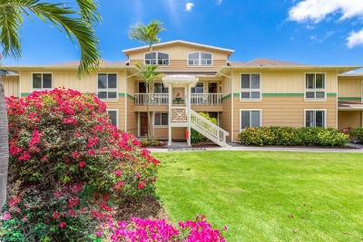 Hawaii County Condo/Townhouse For Sale: 75-5919 Alii Dr #Q23
