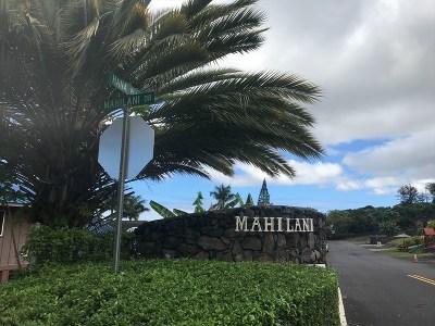 Kailua-Kona Residential Lots & Land For Sale: 73-4167 Hana Pl