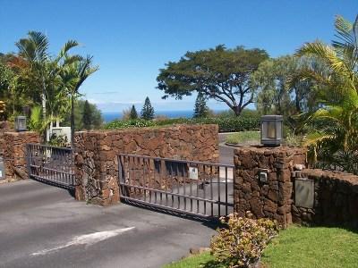 Waikoloa Condo/Townhouse For Sale: 68-1754 Melia St #C117