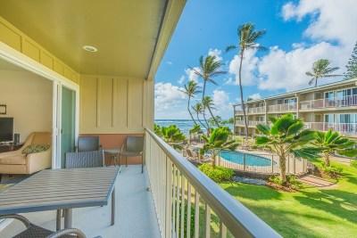 Kauai County Condo/Townhouse For Sale: 4-856 Kuhio Hwy #212