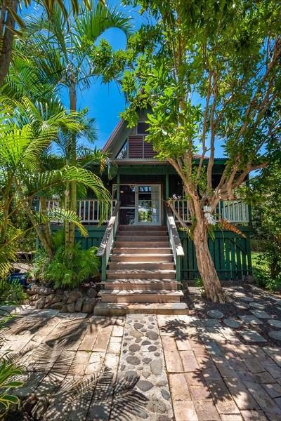 Kauai County Single Family Home For Sale: 4437 Aku Rd