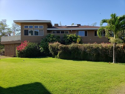 Kauai County Single Family Home For Sale: 4481-F Mamo Rd