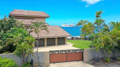 Kailua-Kona Single Family Home For Sale: 75-5922 Alii Dr