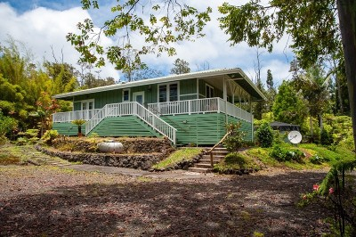 Volcano HI Single Family Home For Sale: $350,000