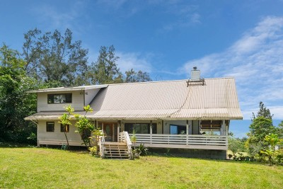 Captain Cook Single Family Home For Sale: 81-2026 Haku Nui Rd