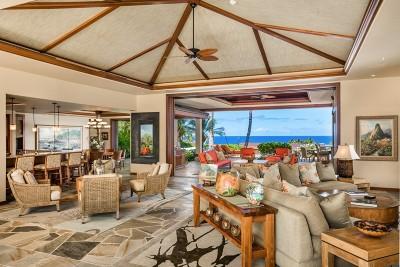 Kailua-Kona Single Family Home For Sale: 72-3058 Maniniowali Dr