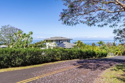 Captain Cook Single Family Home For Sale: 83-5363 Hawaii Belt Rd