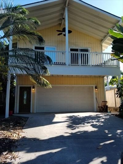 Kailua-kona Single Family Home For Sale: 76-6189 Alii Dr