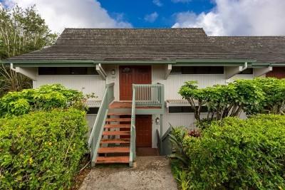 Kauai County Condo/Townhouse For Sale: 5301 Ka Haku Rd #203