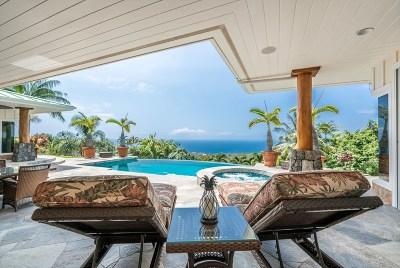 Kailua-Kona Single Family Home For Sale: 75-649 Mahi Iu Lani Pl