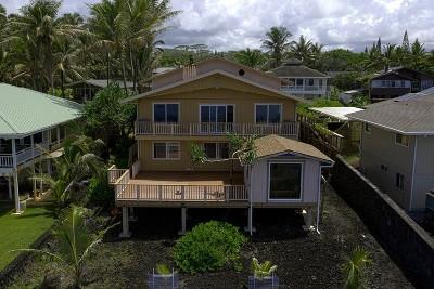 Hawaii County Single Family Home For Sale: 15-2727 Welea St