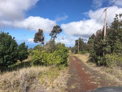 Hawaii County Single Family Home For Sale: 92-8331 Plumeria Ln