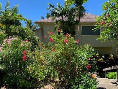 Kauai County Condo/Townhouse For Sale: 2330 Hoohu Rd #12