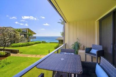 Kauai County Condo/Townhouse For Sale: 1661 Pee Rd #I204
