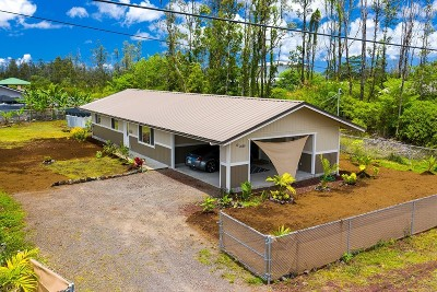 Hawaii County Single Family Home For Sale: 16-2099 Silversword Dr