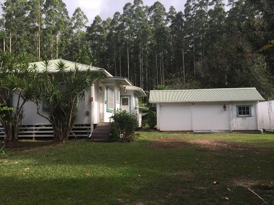 Single Family Home For Sale: 46-4155 Honokaa Waipio Rd
