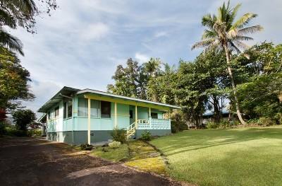 Hilo Single Family Home For Sale: 1755 Wailuku Dr