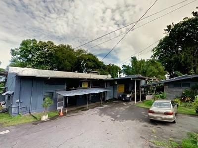 Hilo Single Family Home For Sale: 265-D Kekuanaoa St