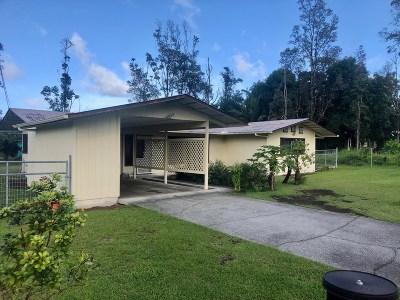 Hawaii County Single Family Home For Sale: 15-2769 Kawakawa St