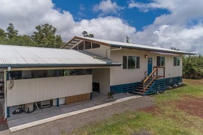 Hawaii County Single Family Home For Sale: 11-3135 Plumeria St