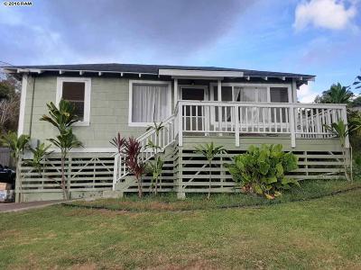 Kula Single Family Home For Sale: 255 Lower Kimo Dr #Kula