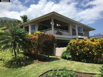 Wailuku Single Family Home For Sale: 450 Kulaiwi