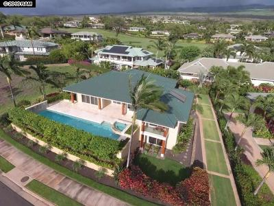Kihei HI Single Family Home For Sale: $2,998,880
